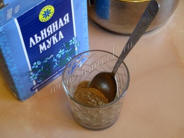 Целебный кисель из льняного семени – кулинарный рецепт