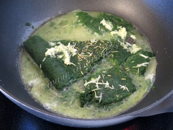Мини стейки из лосося в сливочном соусе со взбитым пюре. Видео-рецепт