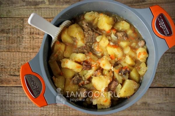 Картофель в мультиварке с печенью рецепты с фото — 5