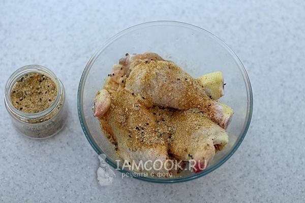 Окорочка маринованые в воде – кулинарный рецепт