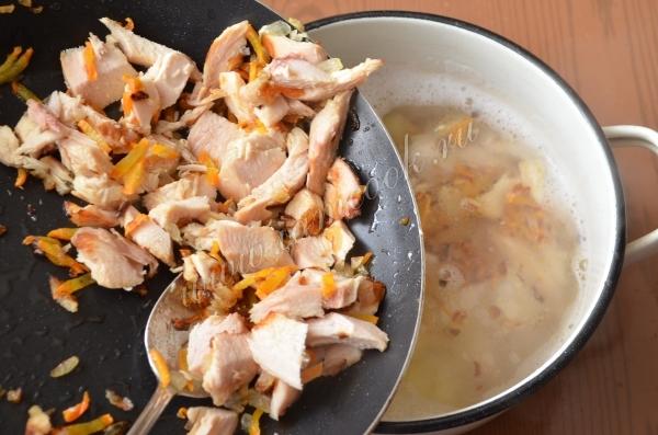 Томатный суп с копченой курицей – кулинарный рецепт