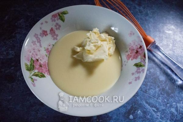 Торт Наполеон со сгущенкой, пошаговый рецепт с фото