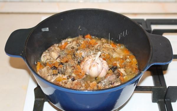 Плов с курицей в казане, пошаговый рецепт с фото