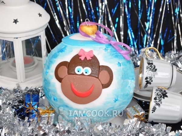 Фото торта «Ёлочная игрушка»