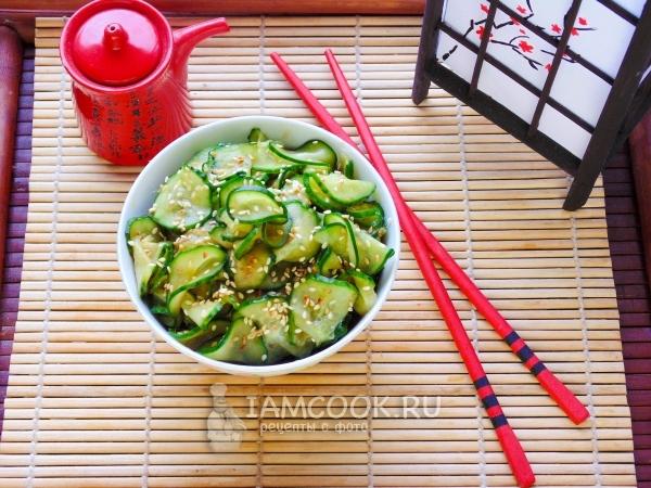 Простые японские салаты