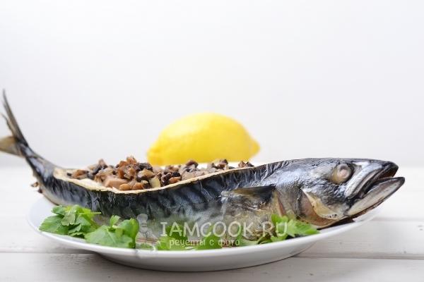 Рецепт фаршированной скумбрии
