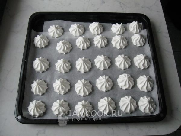 Ромовые трюфели с ванильным безе – кулинарный рецепт