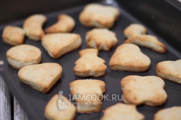 печенье творожное рецепт без масла
