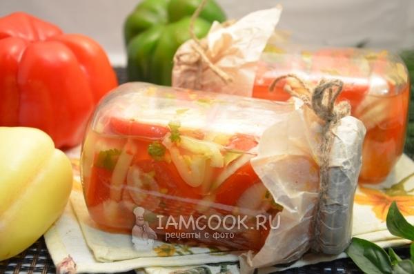 Готовый салат «Донской» на зиму