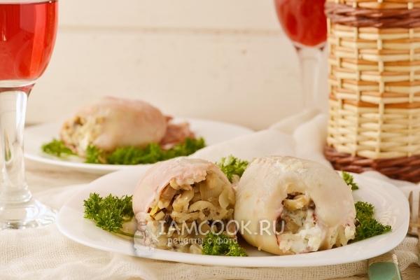 Как приготовить кальмары в духовке видео рецептом