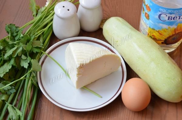 Запеканка из кабачка и адыгейского сыра, рецепт с фото