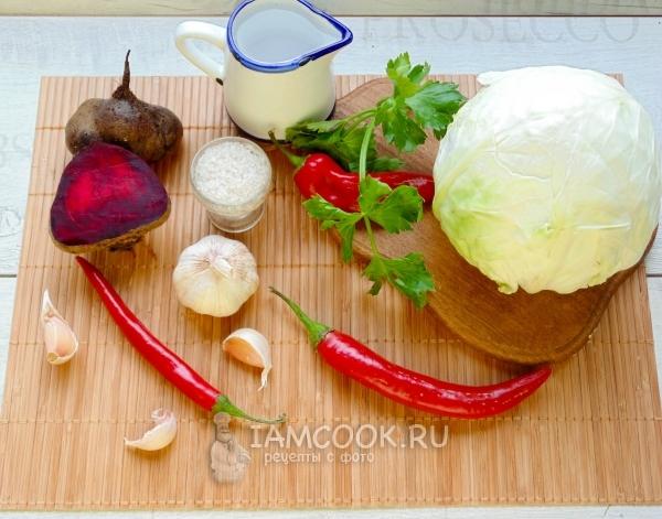 """Быстрая маринованная капуста """"Хорошая закусочка"""" – кулинарный рецепт"""
