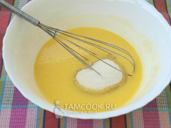 Ватрушки со сметанной заливкой, пошаговый рецепт с фото