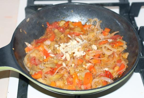 Постная лазанья с овощами, пошаговый рецепт с фото