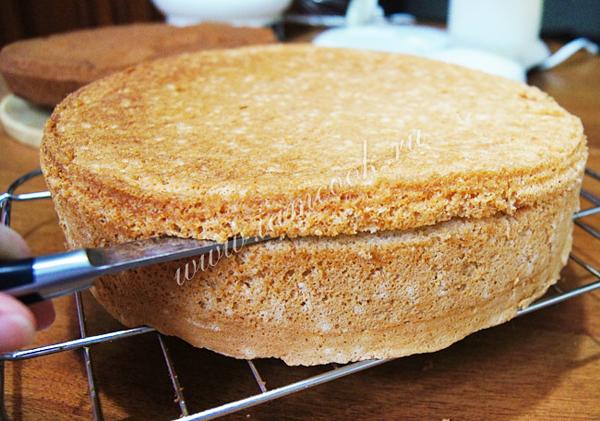 Как сделать бисквитный торт фото 601