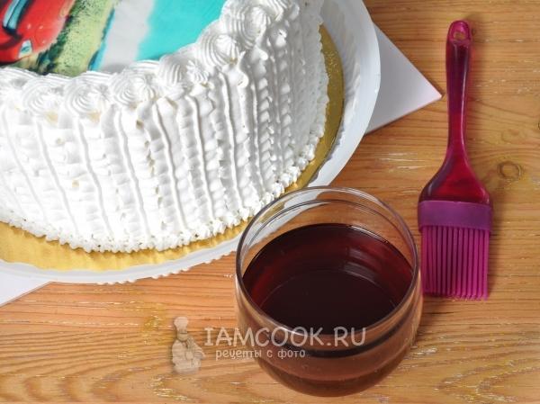 Фото пропитки из варенья для торта