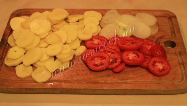 Кёфтеси, запечённые с кускусом, пошаговый рецепт с фото