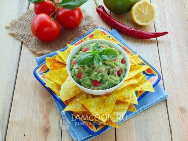 как приготовить мексиканскую закуску с авокадо?