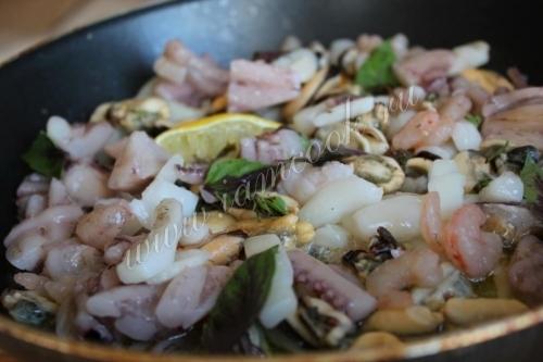 Парадизо – шашлычки из морепродуктов, пошаговый рецепт с фото