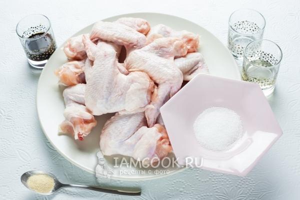 Курица с кешью и грибами в соусе Терияки – кулинарный рецепт