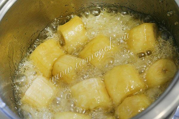 банан в карамели рецепт