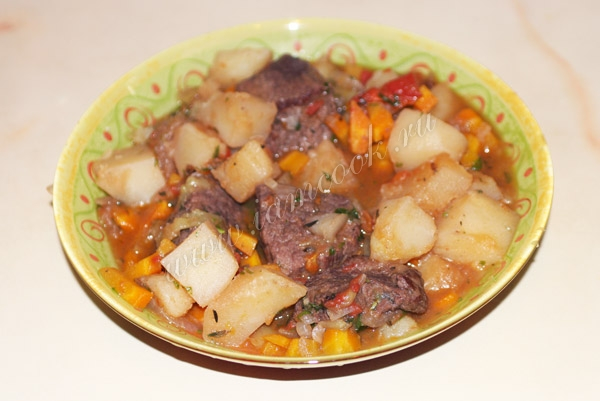 Бобгуляш, пошаговый рецепт с фото