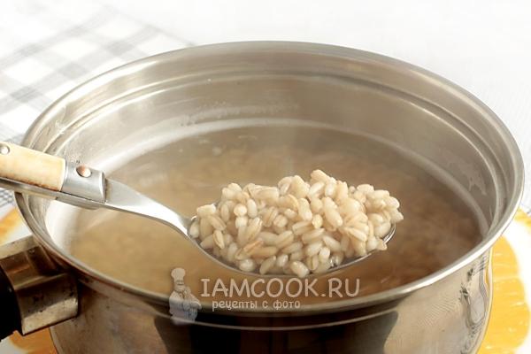 Постная каша - рецепты