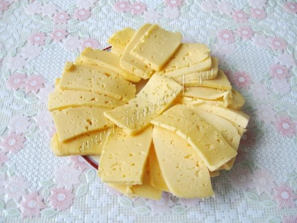 Сыр резанный