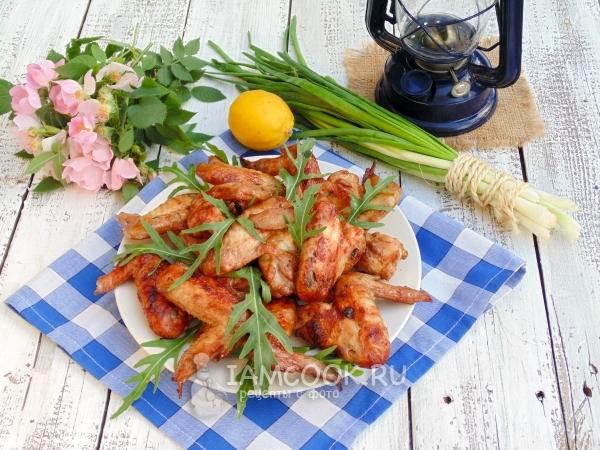 "Куриные крылышки ""Простой вариант"" – кулинарный рецепт"