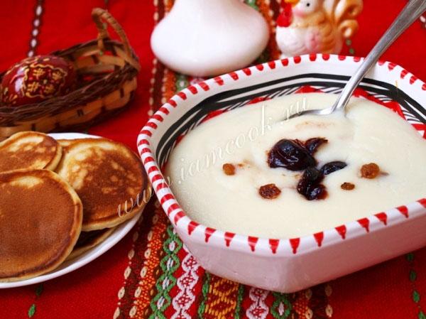 Рецепт манной каши на молоке