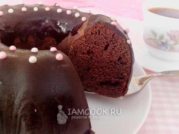 рецепты шоколадный кекс обычный