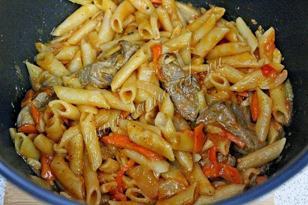мясо к макаронам рецепт с фото