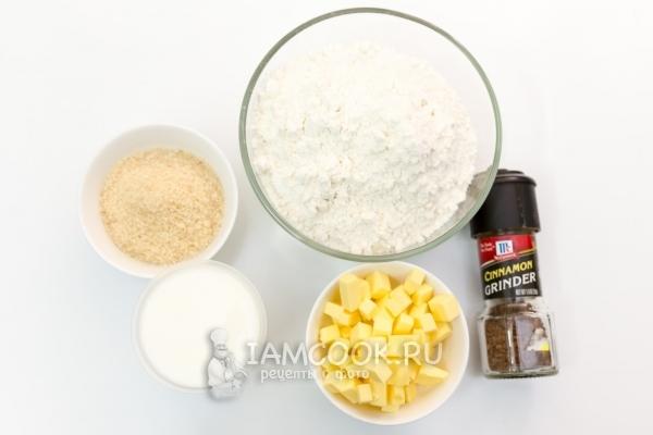 Ингредиенты для печенья на кефире