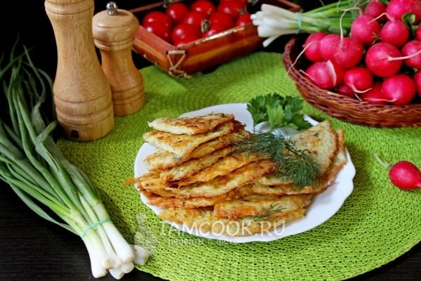 Фото блинов из картофеля