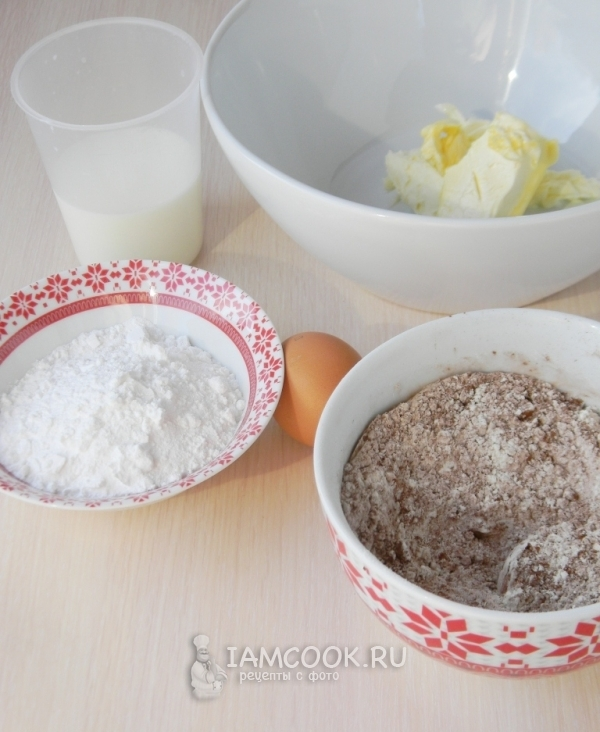 Ингредиенты для пирожного «Вупи Пай»