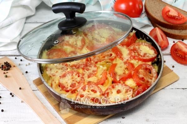 блюда из курицы на сковороде фото