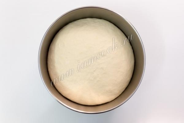Готовое тесто для белого хлеба