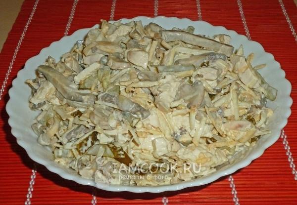 салат английский с курицей рецепт