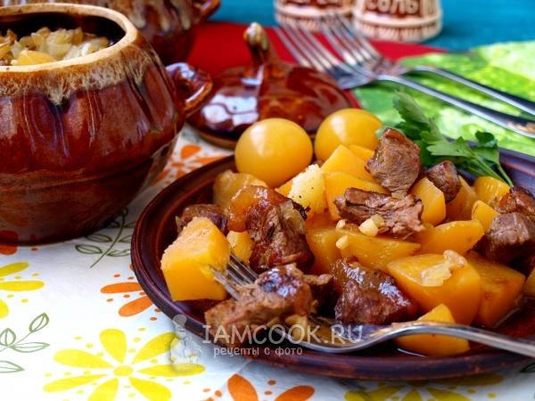 Мясо в горшочках простой рецепт с фото пошагово — pic 5