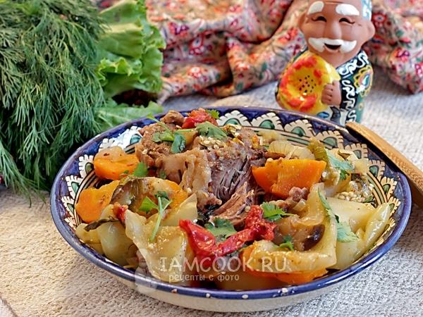 узбекское блюдо из говядины