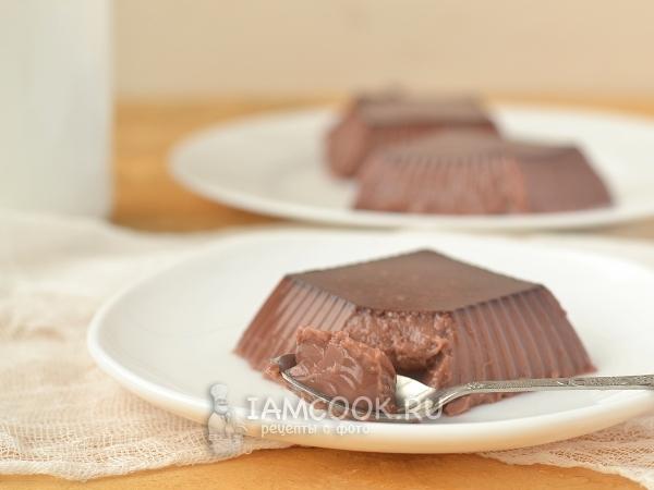 Как сделать желе из какао фото 779