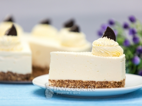 Пирожное чизкейк рецепт из творога рецепт с фото пошагово — pic 7