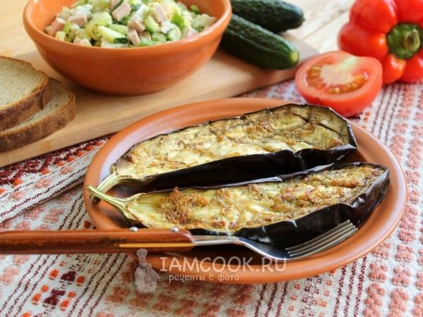 Простой рецепт баклажаны с чесноком — pic 7