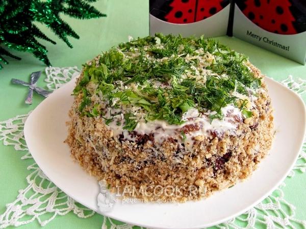 Закусочные торты рецепты с фото из баклажанов 1
