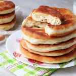 Дрожжевая кукурузно-пшеничная лепёшка